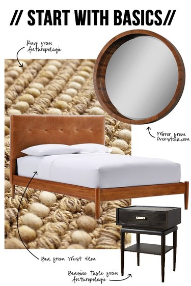 Start with Basic Bedroom Furniture