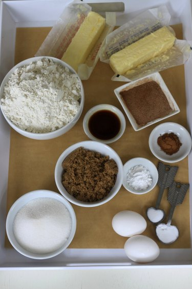 ingredients for snickerdoodles
