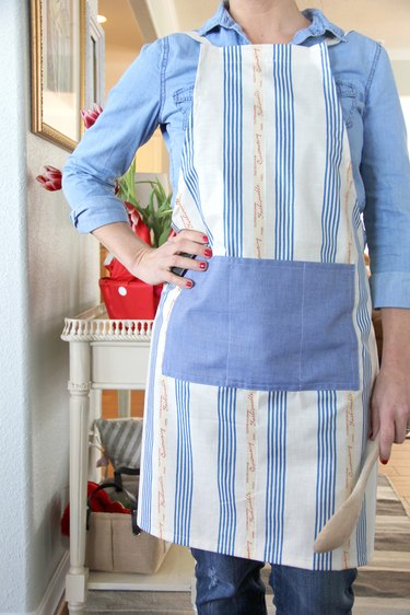 handmade apron DIY