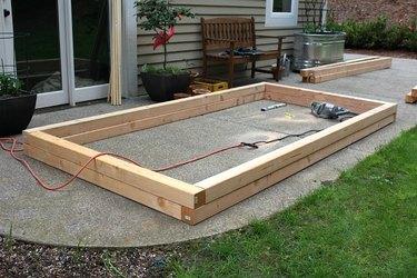 Building a garden box