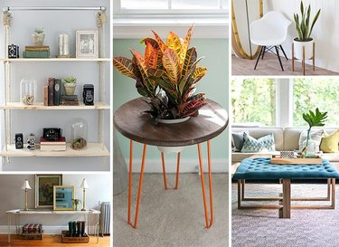 How to build your own living room furniture.