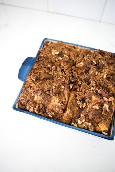 Bake until golden brown, puffed and crisp.
