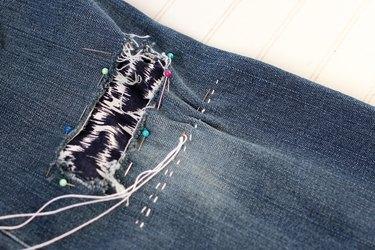 continue to stitch
