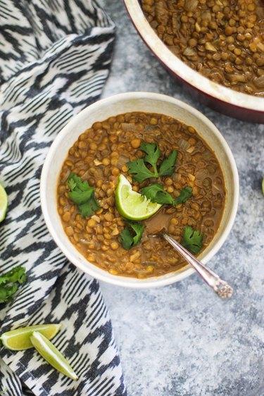 Red Thai Curry Lentil Recipe