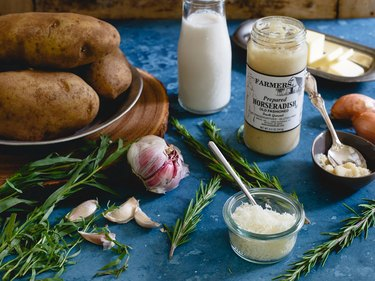ingredients for mashed potato recipes
