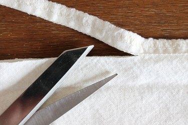 cut seam open