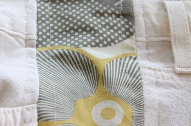 picture of topstitching
