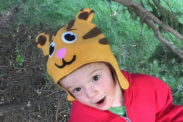 Daniel in the woods