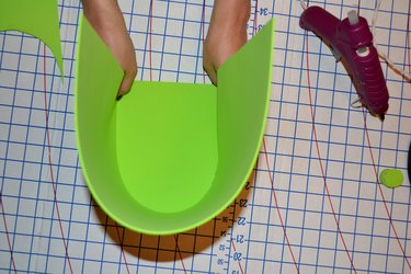 """Step 1-B- Attach  12 x 18 inch """"U"""" Shape"""
