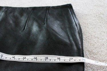 measure across front of skirt