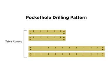 drilling pattern