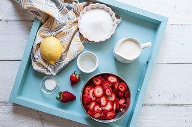 Homemade Strawberry Ice Cream Recipe