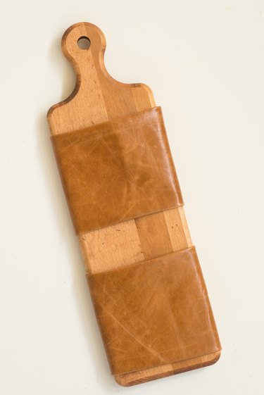 Upcycle a Cutting Board Into a Rustic Mail Organizer