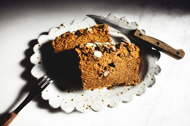 Pumpkin Pie Bread is so comforting, delicious and easy to make!