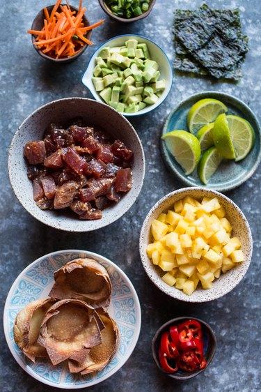 Hawaiian Ahi Poke Appetizer   eHow