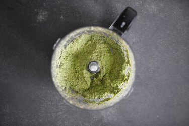Blitz the pesto until smooth.