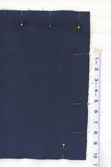 leave a 5 inch opening in the lining