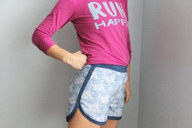 women's jogging shorts sewing pattern
