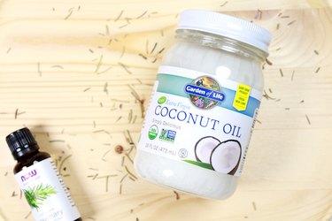 coconut oil jar