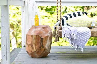 Add texture and function to your outdoor space.