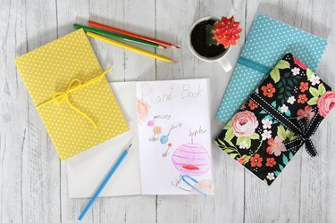 Learn how to sew a paper journal for all occasions.