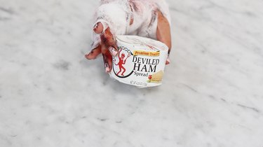Can of deviled ham