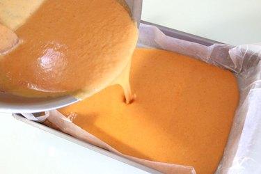 pumpkin pour