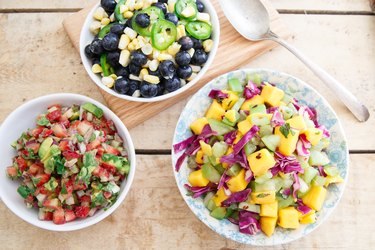 Three fruit salsas for your summer grilling