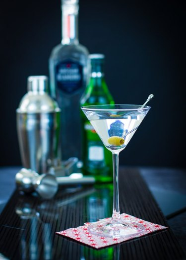 Martinis.