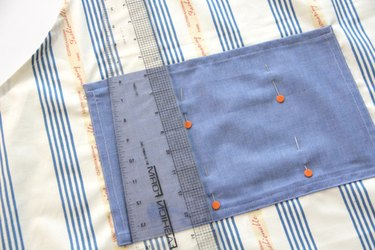 How to add pockets to an apron