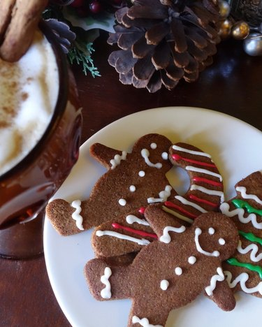 Gluten Free Low Carb Gingergread Cookies