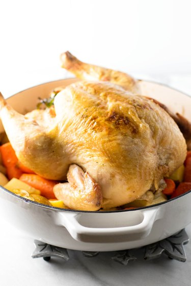 How to roast a 7 pound chicken