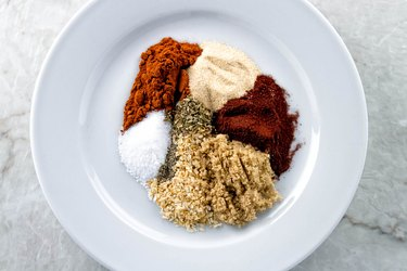 Spices for baby back ribs dry rub