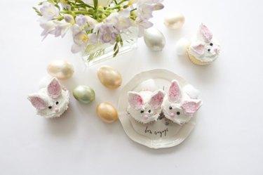 Bunny Cupcake Decoration