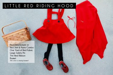 Little Red Riding Hood Costume Requirements
