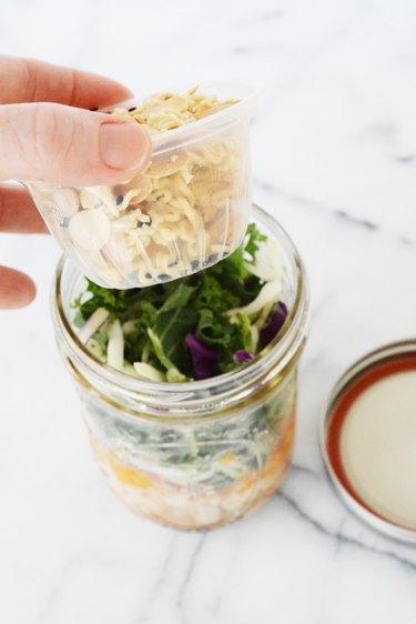 Keep salad add-ons crunchy!