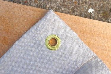 drop cloth grommet