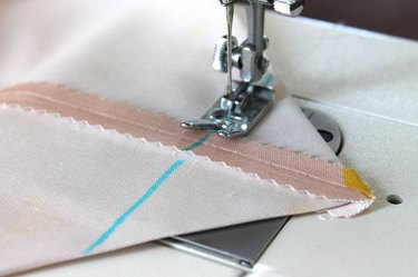 sew on the line