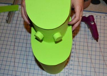 Step 4- Attach Nostrils