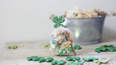 lucky leprechaun munch in a gift bag