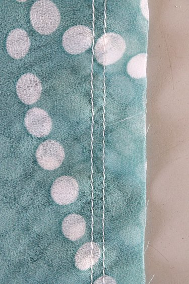 double=stitched seam step 2