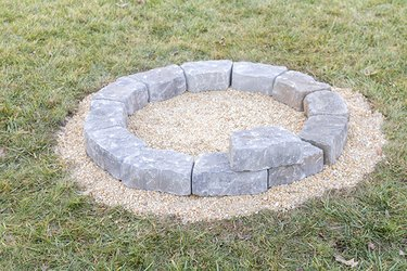 angled stone stones