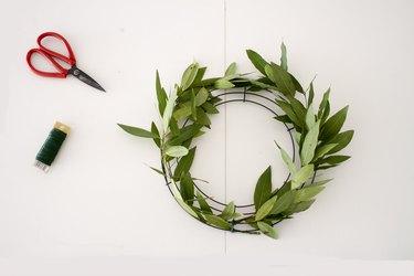 Wrap olive greens