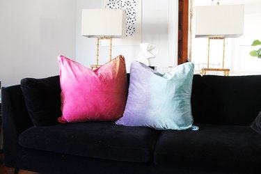 Dyed Pillows