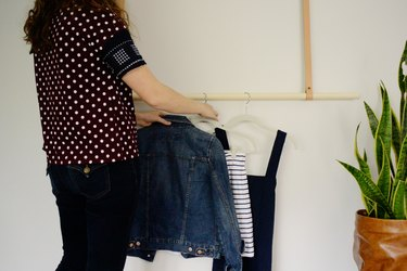 Clothing Rack with Clothes