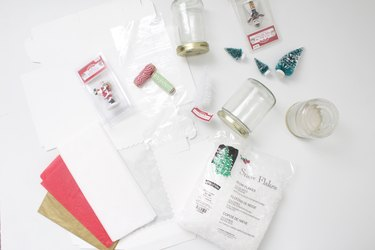 Cute Holiday Gift Idea: DIY Snow Globe Kit