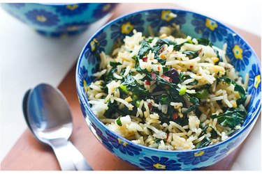 Kale fried rice