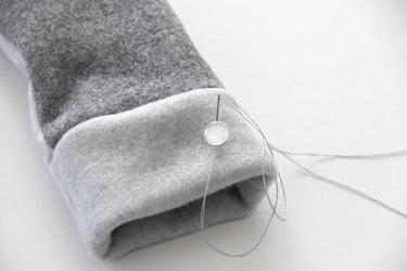 embellish mitten as desired