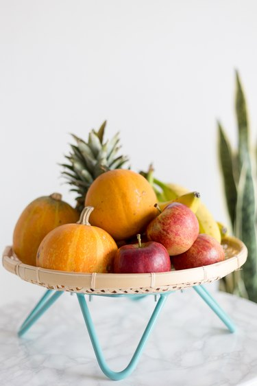 Mid-Century Modern Inspired Fruit Basket