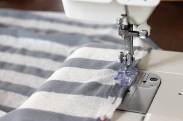 sew folded edges